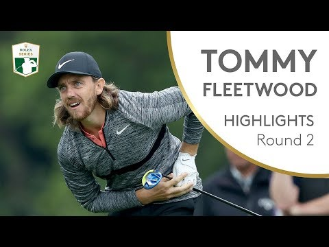 Tommy Fleetwood Round 2 Highlights | 2018 BMW PGA Championship