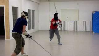 GHFS HEMA longsword sparring