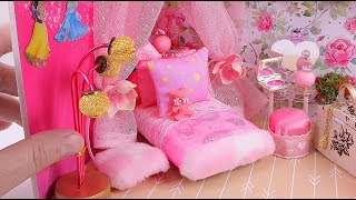 DIY Miniature Girly Dollhouse Room