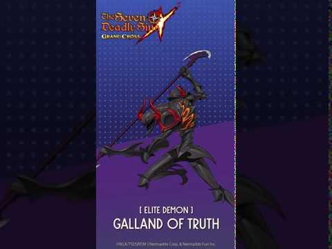 [7DS] Elite Demon Galland of Truth Ultimate Move