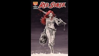 My Review Of Red Sonya #1 By Gail Simone, Published By Dynamite Entertainment