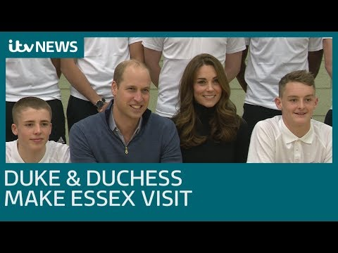 Duke and Duchess of Cambridge meet sports coaches of the future | ITV News