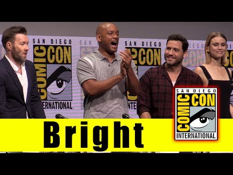 Netflix's BRIGHT | Comic Con 2017 Full Panel & News (Will Smith, Joel Edgerton, Noomi Rapace)