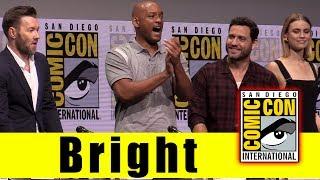 Netflix's BRIGHT | Comic Con 2017 Full Panel & News (Will Smith, Joel Edgerton, Noomi Rapace)