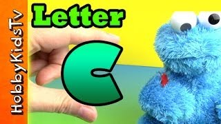 Learn Letter C - Using Real Items - Alphabet For Kids, Preschoolers,teaching Toddlers, Esl