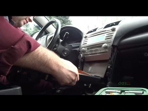 Интерфейсный адаптер Триома установка в Toyota Camry