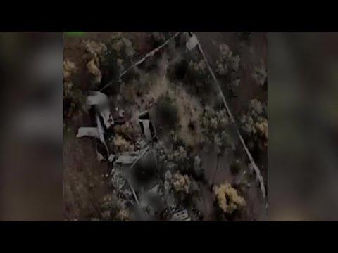 شاهد: إسرائيل تستهدف ما تصفه بـ -نفق لحركة حماس- في غزة في أحدث غاراتها الجوية…