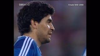 Diego Maradona vs Germany♕Individual Highlights♕World Cup 1990