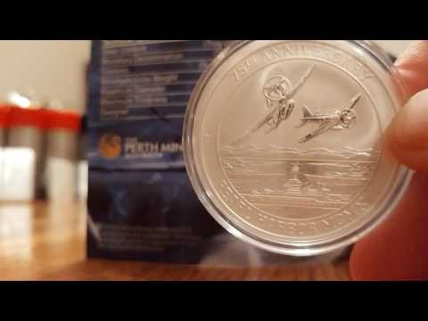 Pearl Harbor coin US Money Reserve and Perth Mint