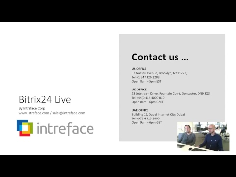 Bitrix24 Free CRM, Project Mgmt And Collaboration Live Stream