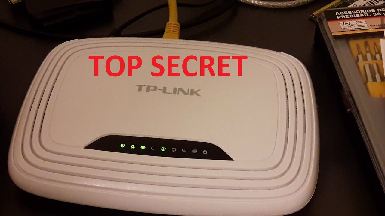 TP-LINK Official Firmware Hidden Menu With Root Access