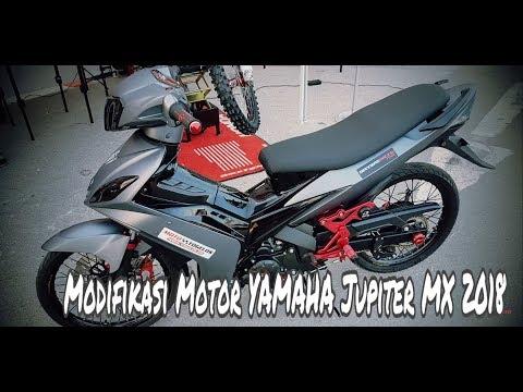 Motor Trend Modifikasi | Video Modifikasi Motor Yamaha Jupiter MX Simple Terbaru  2018