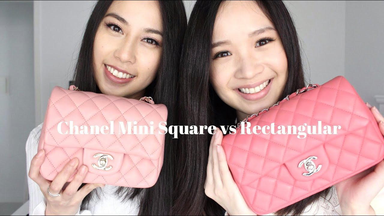 cc2de5250c01 Chanel Mini Review (Square and Rectangular) - YouTube