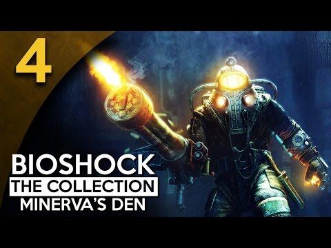 Let's Play BioShock 2 Minerva's Den Remastered Part 4 - Archive [BioShock Collection Blind Gameplay]