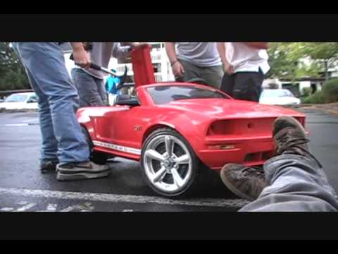 Crazy Mustang Drift Worlds Youngest Drifter Kids Funny Extreame
