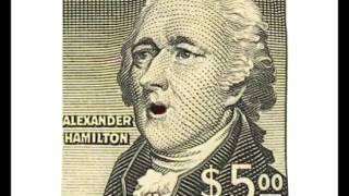 Presidents and Alexander Hamilton talk about Trump