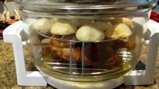 Convection Oven Roast Tandoori Chicken & Baked Potatoes