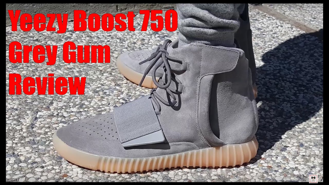 SNEAKERstyle: Yeezy Boost 750 GreyGumGlow Review