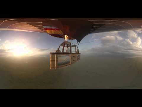 360° Virtual Reality video - Balloon Safari in Uganda