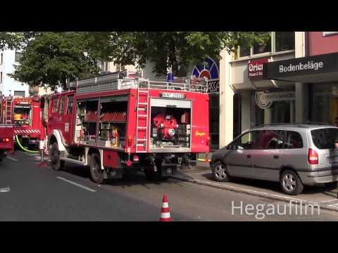 Feuer Großeinsatz in Singen ~ Hegaupresse