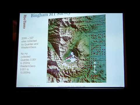 8- Geophysical Case History for Oquirrh Mountains, Utah- Donal Hinks, 2013