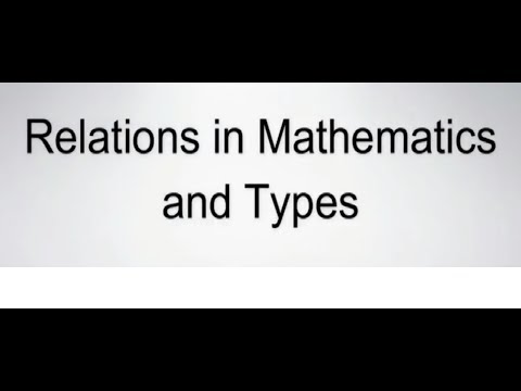 What is Relations Maths ,Types of Relations With Examples Hindi Class 12