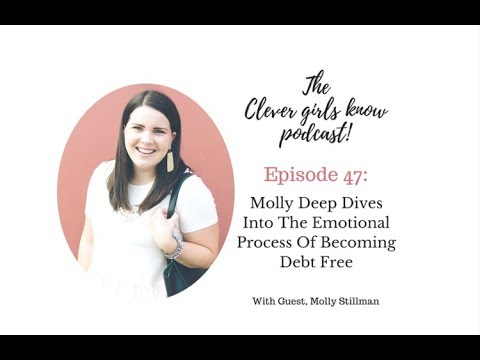 How to pay off your credit card debt: Molly shares her personal story of becoming debt free!