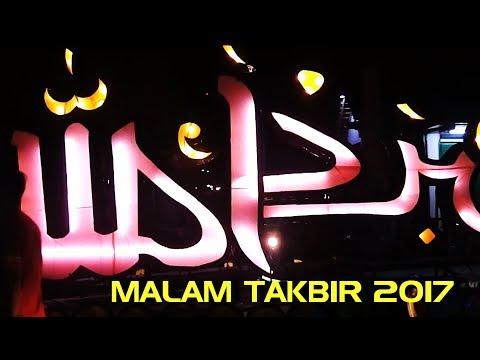 UNIK MALAM TAKBIR IDUL FITRI 1438 H 2017 KOTA WONOSARI (FULL)