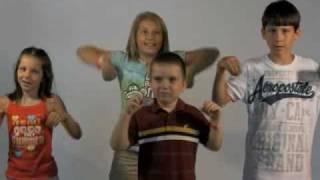 Four Kids Chicken Dance