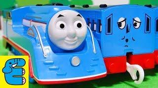 プラレール 流線形トーマス改造 Plarail Upgrade Streamlined Thomas [English Subs] thumbnail