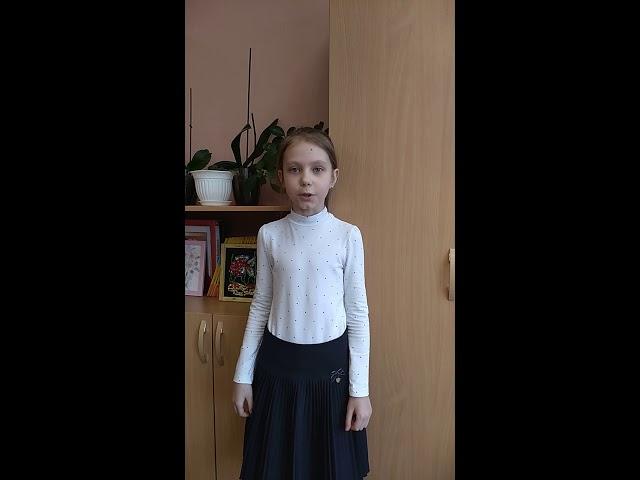Изображение предпросмотра прочтения – ОльгаРудько читает произведение «Я пришёл к тебе с приветом» А.А.Фета