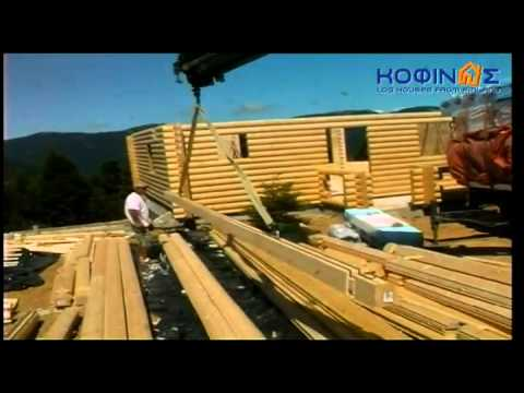 KOFINAS LOG HOUSES FROM FINLAND - HOUSE CONSTRUCTION