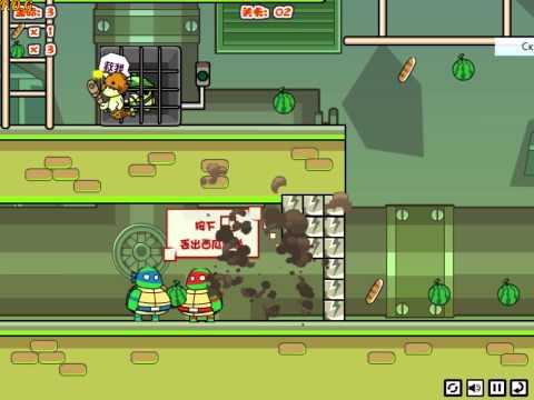 Teenage Mutant Ninja Turtles Save New York (Черепашки ниндзя на двоих)