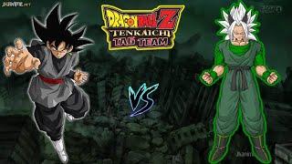 DRAGON BALL Z TENKAICHI TAG TEAM VERSION LATINO! BLACK GOKU VS ZAIKO