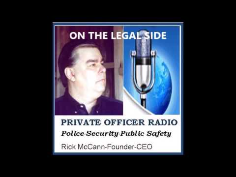 PRIVATE OFFICER RADIO   ON THE LEGAL SIDE