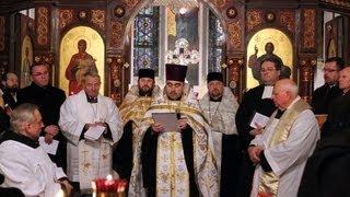 Wspólna modlitwa księży z Kościołów chrześcijańskich