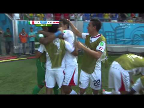 World Cup 2014 Group D Italy vs Costa Rica 2014 All Goals/Włochy - Kostaryka