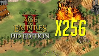 AoE2 Extreme - 256x Tech Mod [Infinite Upgrades!]