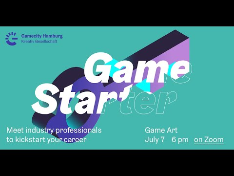Gamecity Hamburg Game Starter Game Art Youtube