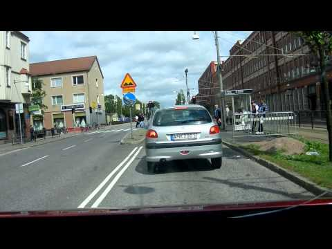 Nikon Coolpix S9100 HD test/ Gothenburg/ Sweden/ Driving cam