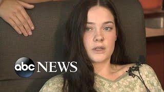Teen pushed off bridge thinks she \'fainted midair\'