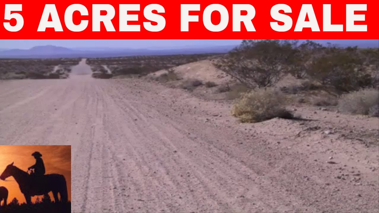 5 Acres For Sale Southern California Owner Financing