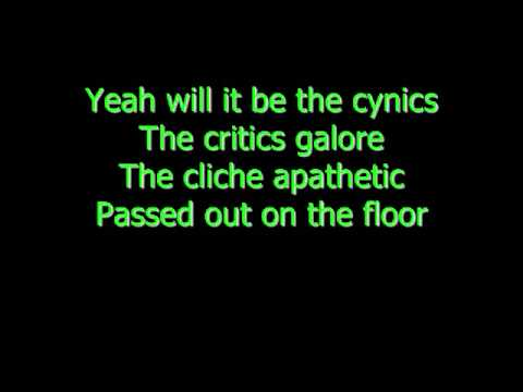 Rise Against - Architects (Instrumental Karaoke w/lyrics)