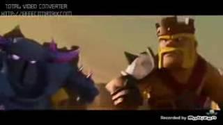 Video perang coc lucu