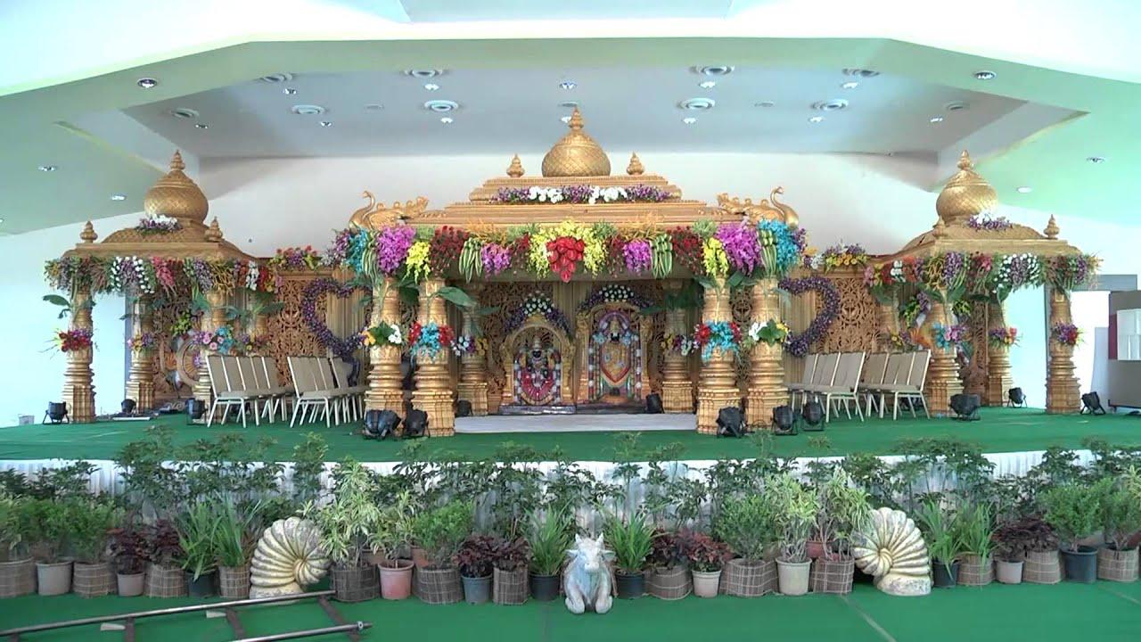 RK EVENTS - YouTube for Pelli Mandapam Vedika Stage Decorations  29jwn