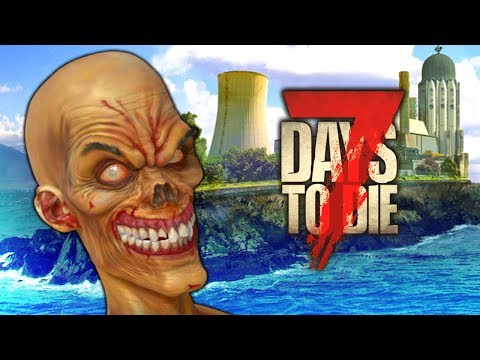 ULTIMATE ZOMBIE ISLAND FORT  (7 Days To Die - War of the Walkers Mod)(Ep.31)