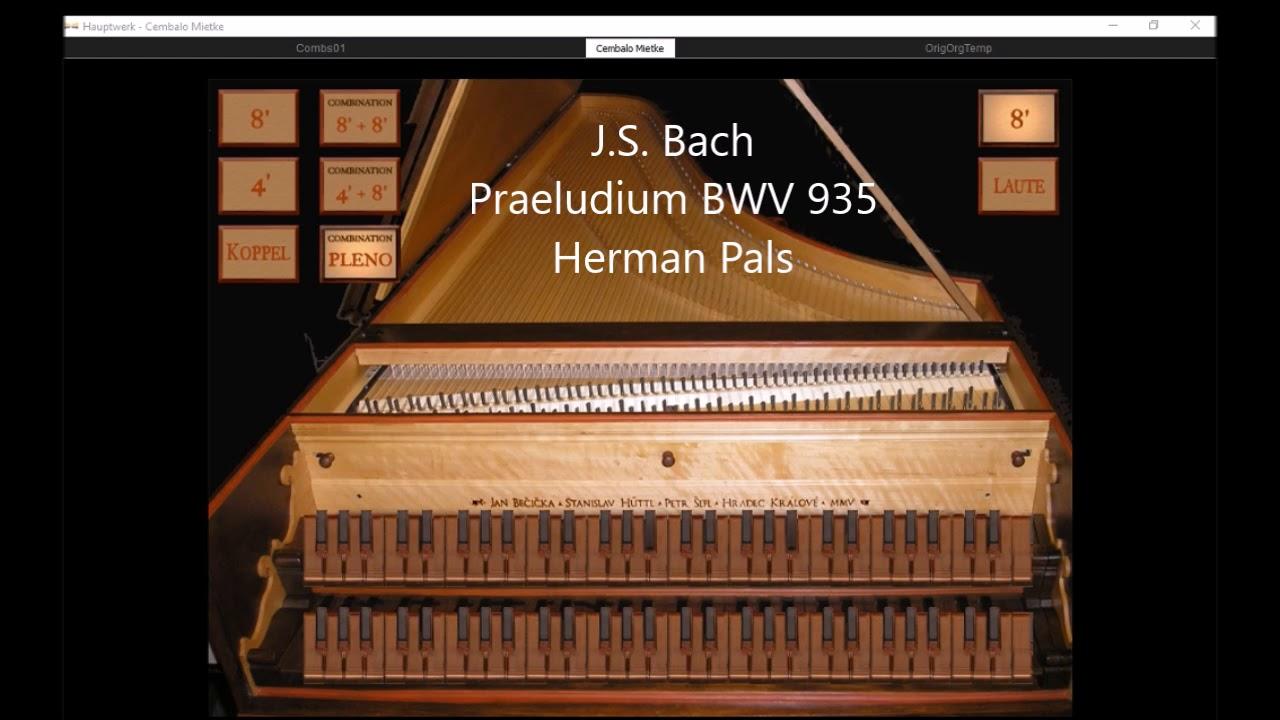 hauptwerk harpsichord