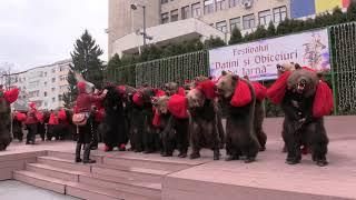 Partea I Festivalul de datini si obiceiuri de iarna - Vaslui 2017 - HD