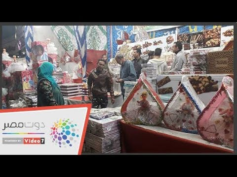 بائعو حلوي المولد بشبرا الخيمة يحاربون الغلاء..الكيلو بـ 25 جنيها  - 21:54-2018 / 11 / 16