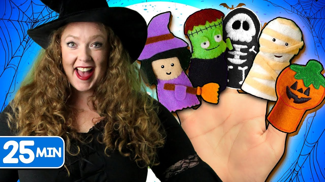 Halloween Finger Family & more Halloween Songs for Children | Kids ...